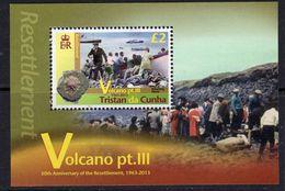 Tristan Da Cunha 2013 Volcano III MS, MNH, SG 1082 - Tristan Da Cunha