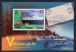 Tristan Da Cunha 2013 Volcano IV MS, MNH, SG 1091 - Tristan Da Cunha