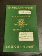Passeport, Royaume De Belgique, Arlon 1964 - Documentos Históricos