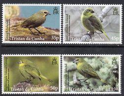 Tristan Da Cunha 2014 Finches Birds Set Of 4, MNH, SG 1100/3 - Tristan Da Cunha
