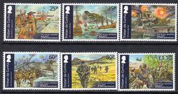 Tristan Da Cunha 2014 350th Anniversary Of Royal Marines Set Of 6, MNH, SG 1113/8 - Tristan Da Cunha