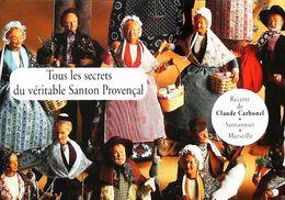 Publicité  Santon De Provence  Claude Carbonel - Christianisme