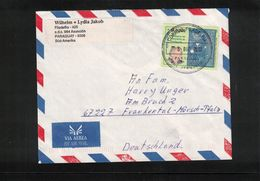 Paraguay 2003 Interesting Airmail Letter - Paraguay