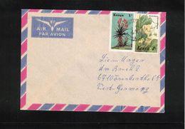 Kenya 1988 Interesting Airmail Letter - Kenya (1963-...)