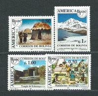 Bolivia - Correo 1990 Yvert 757/8 ** Mnh Upaep - Bolivia