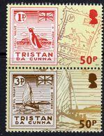 Tristan Da Cunha 2015 Europhilex, The Potato Essays Pair, MNH, SG 1120 & 1123 - Tristan Da Cunha