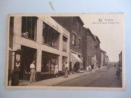 Auvelais  Rue De La Station Et Bazar Tills - Belgique