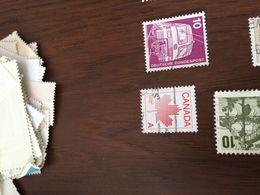 CANADA FOGLIA ACERO 1 VALORE - Timbres