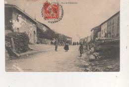 CPA HAILLIANVILLE RUE DE CLEZENTAINE - Autres Communes