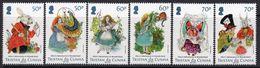 Tristan Da Cunha 2015 Alice In Wonderland Set Of 6, MNH, SG 1144/9 - Tristan Da Cunha