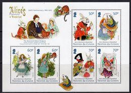 Tristan Da Cunha 2015 Alice In Wonderland MS, MNH, SG 1150 - Tristan Da Cunha