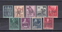 Suisse - Année 1944 - Service - Oblitéré - N°Zumstein 10/18 - BIE - Sujets Historiques, Courrier Du BIE - Service