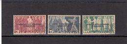 Suisse - Année 1944 - Service - Oblitéré - N°Zumstein 19/21 - BIE - Sujets Symboliques, Courrier Du BIE - Service