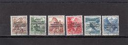 Suisse - Année 1948 - Service - Oblitéré - N°Zumstein 23/28 - BIE - Paysages - Service
