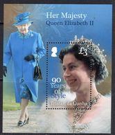 Tristan Da Cunha 2016 Queen's 90th Birthday MS, MNH, SG 1167 - Tristan Da Cunha