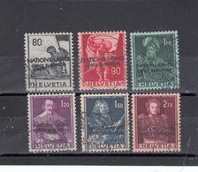 Suisse - Année 1950 - Service - Oblitéré - N°Zumstein 12/17 - ONU - Sujets Historiques - Service