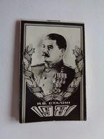 Small Calendar Stalin 1981 - Calendari