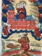 Image Pieuse - 18ième - GOUACHE - GRAVURE - Cor. De Boudt - 10 Cm X 7 Cm - S. MARIE LAURETANA - Images Religieuses