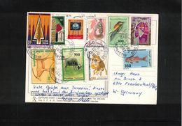Tunisia 1992  Interesting Postcard - Tunesien (1956-...)