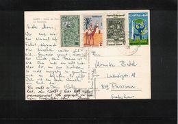 Tunisia 1985  Interesting Postcard - Tunesien (1956-...)