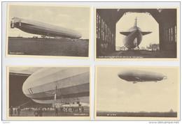 GRAF ZEPPELIN - LOT DE 8 CARTES POSTALES - MARINE LUFTSCHIFF - GERMAN AIRSHIP DIRIGEABLE ALLEMAND - HAMBURG-FUHLSBÜTTEL - 5 - 99 Postkaarten