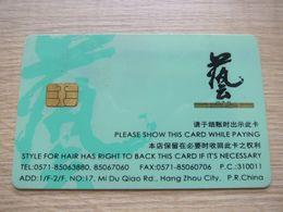 Hair Saloon Chip Membership Card - Télécartes