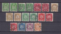 Deutsches Reich - 1924 - Michel Nr. 344/345 + 355/359 + 361 - Postfrisch/Ungebr. M. Falz/Gestempelt - Deutschland