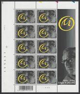 Belgique COB F3282 ** (MNH) - Planche 3 - Full Sheets