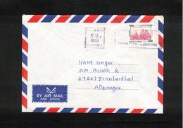 Cambodia 2000 Interesting Airmail Letter - Cambodge