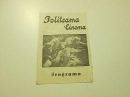 PORTUGAL PROGRAM - CINEMA - FILM - POLITEAMA   - LISBOA - Programmes