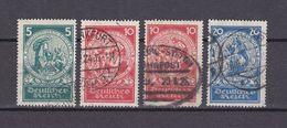 Deutsches Reich - 1924 - Michel Nr. 351/353 - Gestempelt - 24 Euro - Deutschland