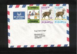 Ethiopia 2001 Interesting Airmail Letter - Ethiopie
