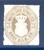 Mecklenbourg-Strelitz N°6 - Cote 50€ - (F1736) - Mecklenburg-Strelitz
