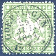Wurtemberg N°18 - Oblitéré - (F1739) - Wurttemberg