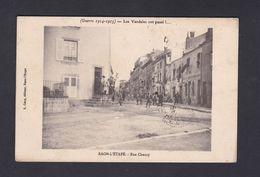 Vente Immediate Raon L' Etape (88)  Guerre 14-18 Les Vandales Ont Passé... Rue Chanzy (42450) - Raon L'Etape
