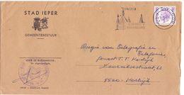 Omslag Enveloppe - Stad Ieper - Stempel Cachet 1974 - Enveloppes