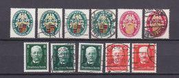 Deutsches Reich - 1926/27 - Michel Nr. 398/399 + 403/404 - Postfrisch/Ungebr. M. Falz/Gestempelt - 43 Euro - Deutschland