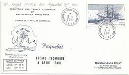 YT 4111 Pourquoi Pas ? - Bateau Du Commandant Charcot - Posté à Bord De La Nivose - Martin De Viviès - 13/01/2011 - France