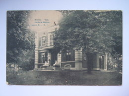 Asse Assche Villa Rue De La Station Edit L. Lagaert Gelopen Circulée 1907 - Asse