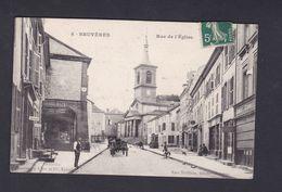 Bruyeres ( Vosges 88) Rue De L' Eglise ( Animée Ed. Rosa Thiebaut 42451) - Bruyeres