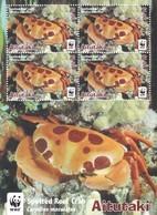 Aitutaki En Minipliegos De 4 Series - Aitutaki
