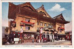 Kabukiza Theatre Kobikicho Tokyo - Tokio
