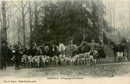 Eurville * L'équipage Et La Meute * Chasse à Courre Vénerie - Francia
