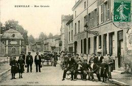 Eurville * Rue Grande * Café Estaminet Hôtel D'eurville DUPIN Propriétaire - Francia