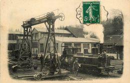 Nogent En Bassigny * Usines De Courcelles * L'intérieur * Forges Forge Industrie * Machine Locomotive - Nogent-en-Bassigny