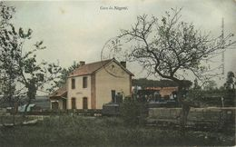 Nogent Le Bas * La Gare * Train Locomotive * Ligne Chemin De Fer Haute Marne - Nogent-en-Bassigny
