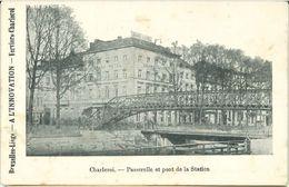 CHARLEROI : Lot De 5 Cartes A L'Innovation - Charleroi