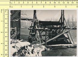 REAL PHOTO Watermill  Water Mill Wheel,  Moulin À Eau Watermolen Situeren ORIGINAL - Objets