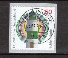 Deutschland BRD  Gestempelt 3555 Leuchtturm Schleimünde Mit Nummer  Skl - Gebraucht