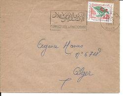 Algérie YT 367 / Env Alger 18/07/63 Flamme Anniversaire Indépendance - Algeria (1962-...)